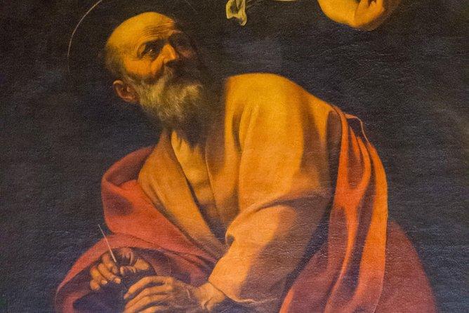 Raphael & Caravaggio Guided Walking Tour- Wine Tasting
