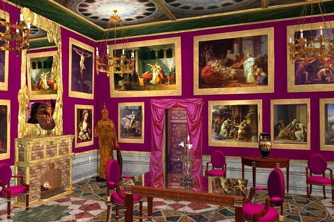 Palazzo Colonna: the Gallery and the apartments of Princess Isabella
