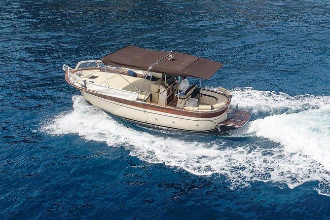 Positano private boat tour from Capri