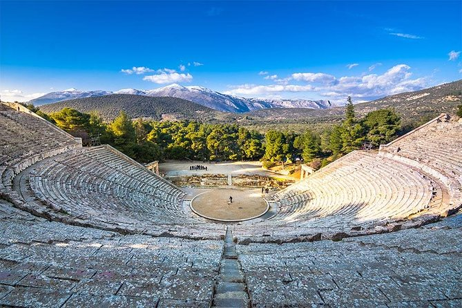 Athens: Epidaurus - Mycenae - Nafplio, Private Tour (per group 1 to 7 persons)