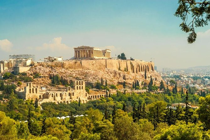 Small Gr & Family: Athens City Tour & 3 Islands Cruise & Delphi Tour & Air Tranf