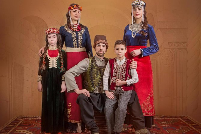 Photoshoot in Armenian garments