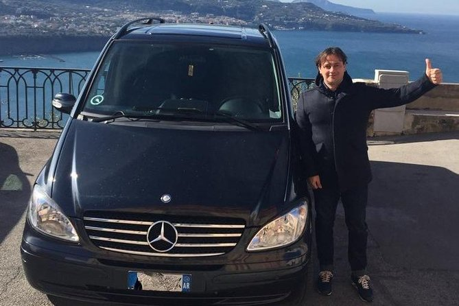 Private Transfer from Amalfi Coast to Rome with English-Speaking Driver