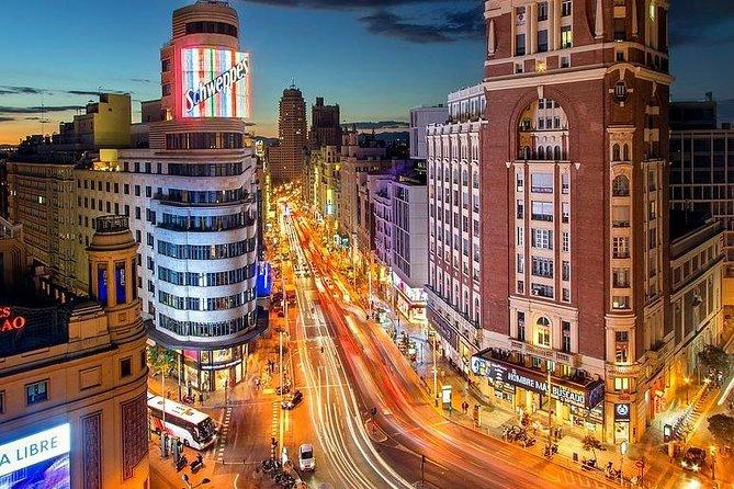 Departure Private Transfer Luxury Van Madrid to MAD