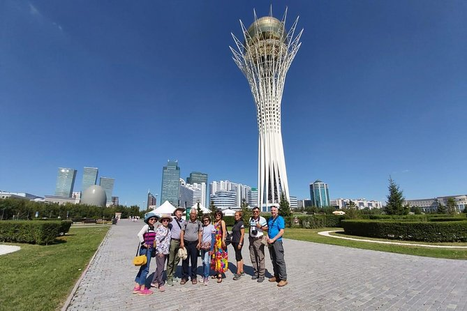 Nur-Sultan 5-Hour Private Tour, Inclusive of Hotel Pickup & Entry Fees