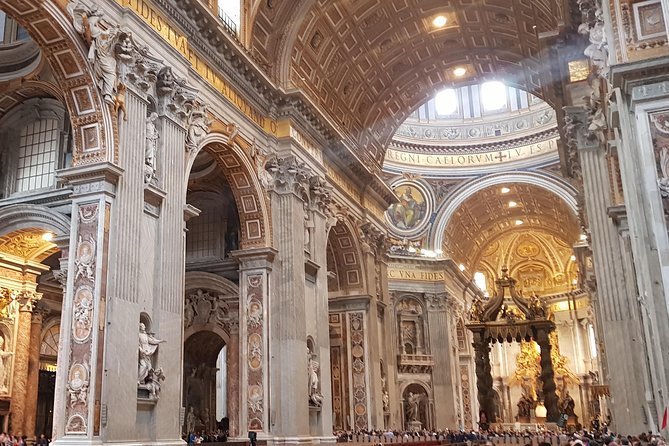 Private Early Morning Vatican with Hotel Pickup