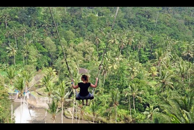Amazing Ubud ATV Quad Bike and Swing Include Lunch