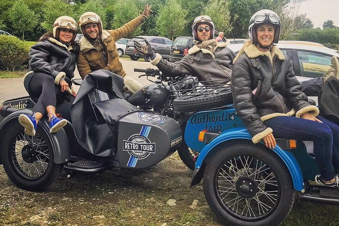 Half-day sidecar excursion to the landing beaches