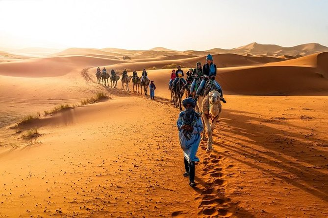 3 Days shared Tour From Marrakech To Merzouga Dunes and back to Fez