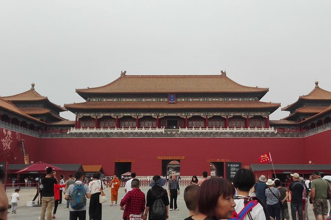 Beijing Forbidden City and Great Wall Day Tour photo 9