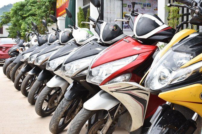 Rental of a Scooter from Hue to Hoi An with Bag Transfer