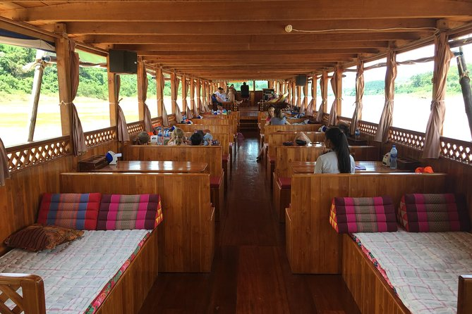 Cruise the Mekong river from Houy Xai to Luang Prabang in comfort and safety