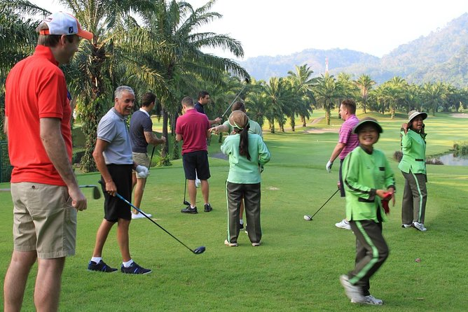 Golfing at Loch Palm Club in Phuket photo 3