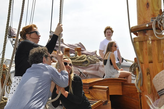 Sailing Cruises out of Copenhagen Harbour - Run up the sails with the crew photo 8