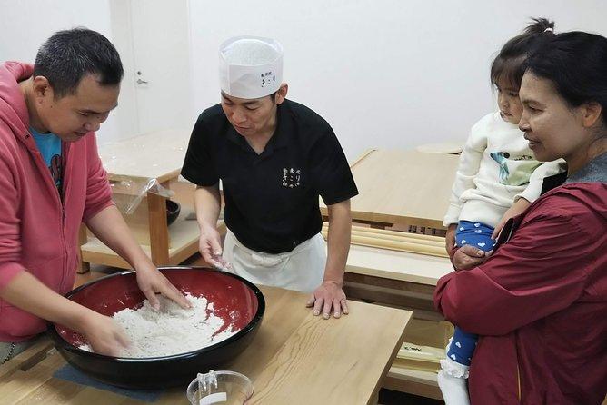 Experience Local Soba Making in Karuizawa