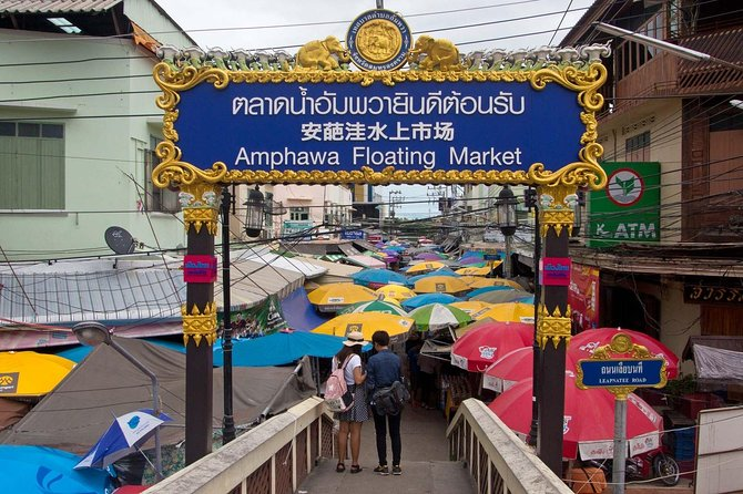 Skip the Line: Experience Amphawa Floating Market on Weekends in Thailand Ticket