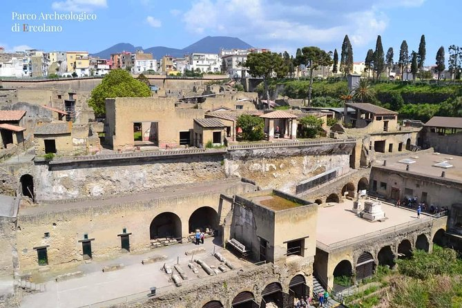 Historical Tour -pompeii Herculaneum Oplontis from Naples