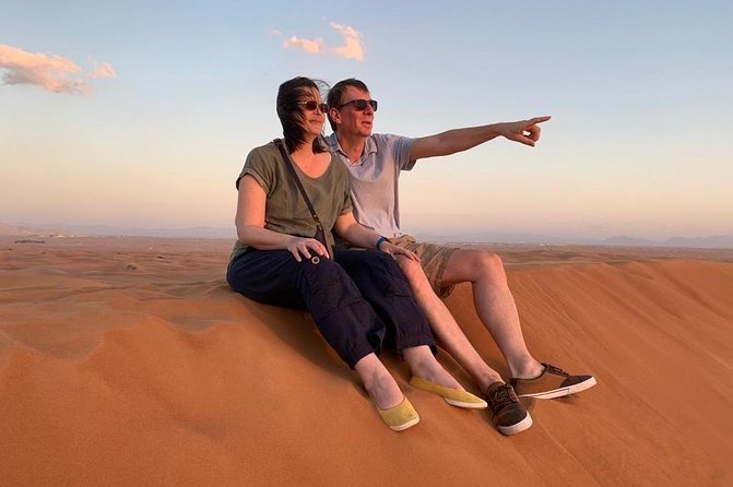 Dubai: Best Desert Safari, Sandboard, CamelRide & VIP BBQ Dinner by Trawey Tours