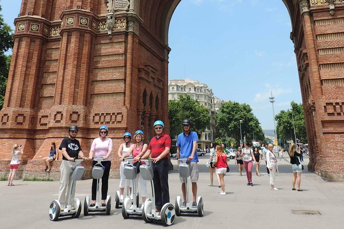 One-way to Sagrada Familia 1H Segway Tour