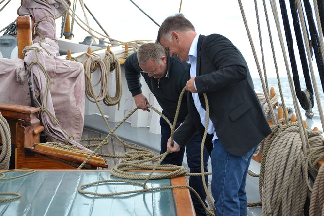 Sailing Cruises out of Copenhagen Harbour - Run up the sails with the crew photo 6