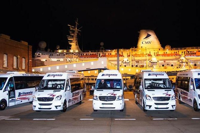 Pre-Cruise; London Airports, Transport Hub or Hotel to Dover transfer