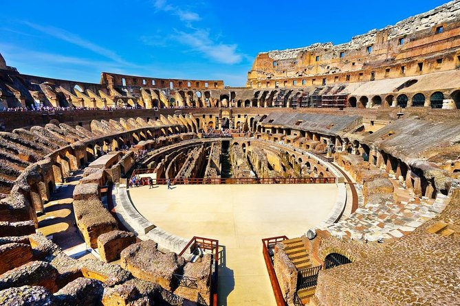 Colosseum Exclusive Arena floor and Ancient Rome Guided Tour