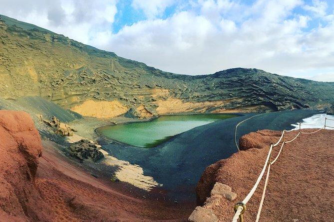 Excursão completa ao sul dos lugares vulcânicos de Lanzarote