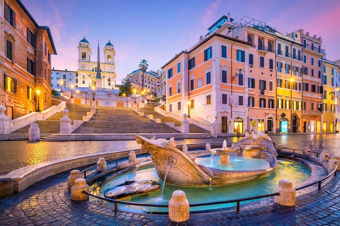 Rome Highlights Tour | Squares and Fountains | Walking small Group experience