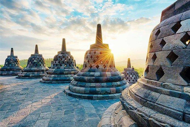 Yogyakarta: Borobudur Sunrise, Merapi Volcano & Prambanan Private Day Trip