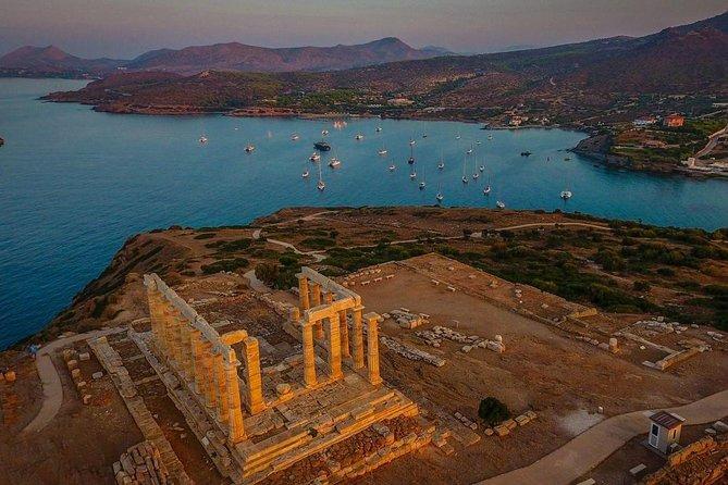 Athens Riviera - Cape Sounio, Private Tour (gup 1 to 7 p)