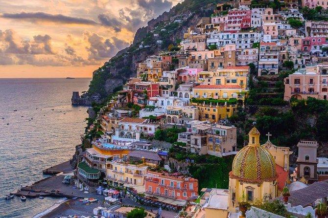 Transfer Rome to Positano, (e viceversa), stop Hercolaneum