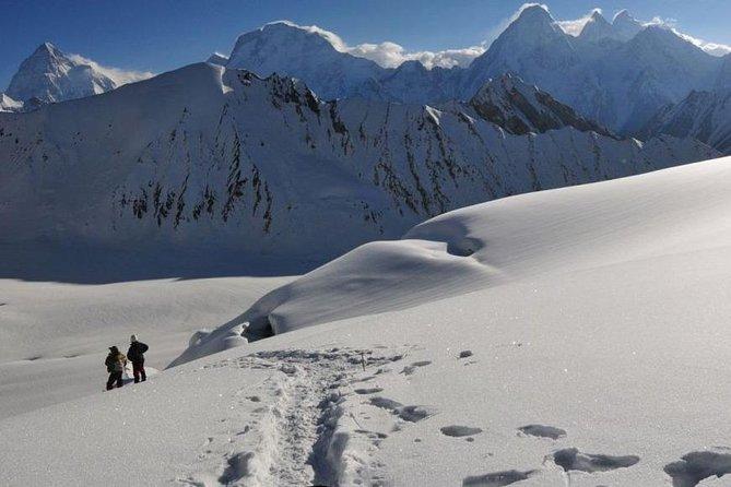 Glance of Karakorum giants from gandogoro La top