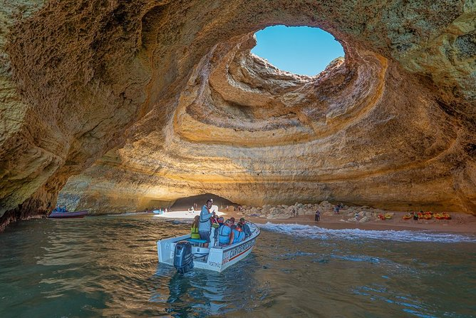 Benagil Long Boat tour (From Carvoeiro to Praia da Marinha)