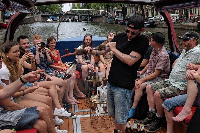 Buddha Lounge Boat Amsterdam, Smoke and Cruise in Style 75 min tour