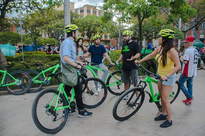 Bike Tour in Medellin, Viewpoints, Colombian Coffee and Local Food