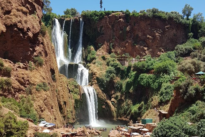 Ouzoud waterfalls day trip from Marrakech !!