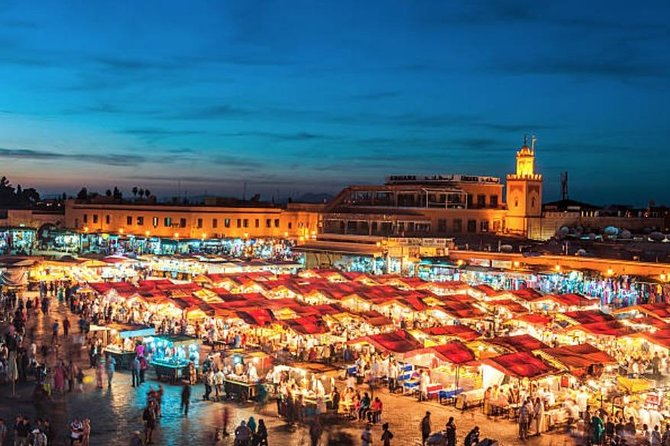 Excursion Marrakech pick up from de Casablanca