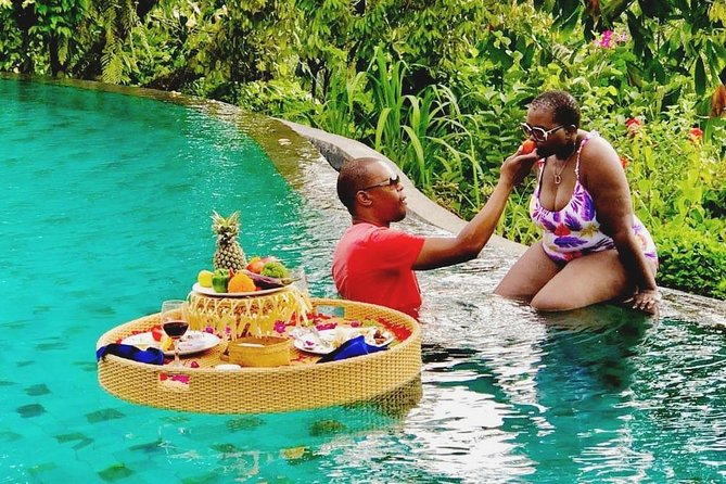 Best of Ubud; Romantic Floating Lunch, Rice Teracce, Jungle Swing & Waterfall