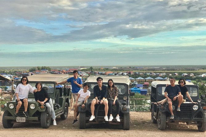 Private Siem Reap Countryside Tour by Jeep with Local Food Experience