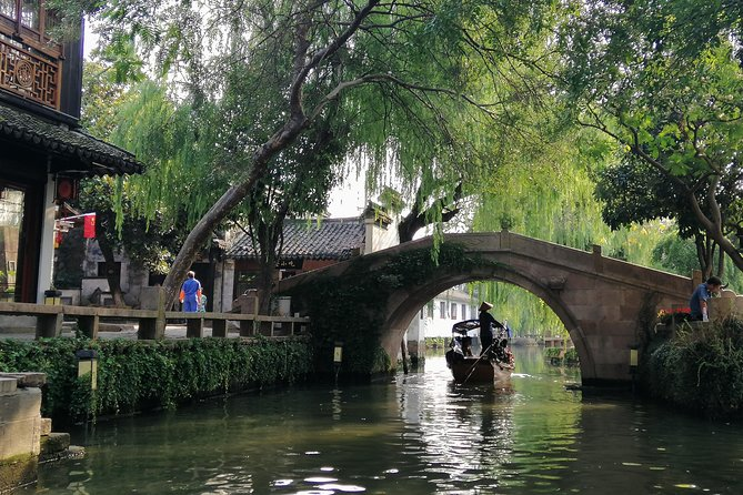 Suzhou and Zhouzhuang Water Village Private Day Tour with Lunch
