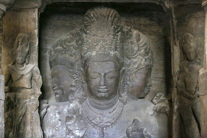 Mumbai Elephanta Caves and Heritage City Tour
