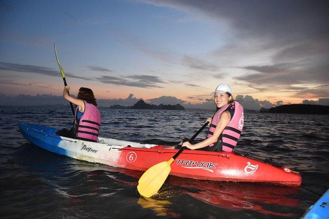 BBQ Sunset Canoe at Ao Thalane