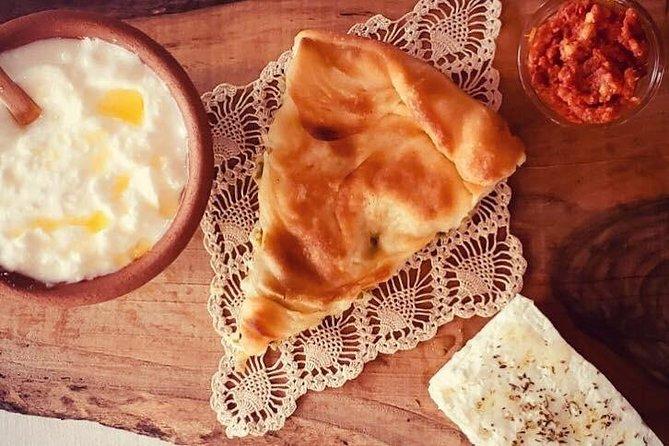 Traditional Macedonian breakfast