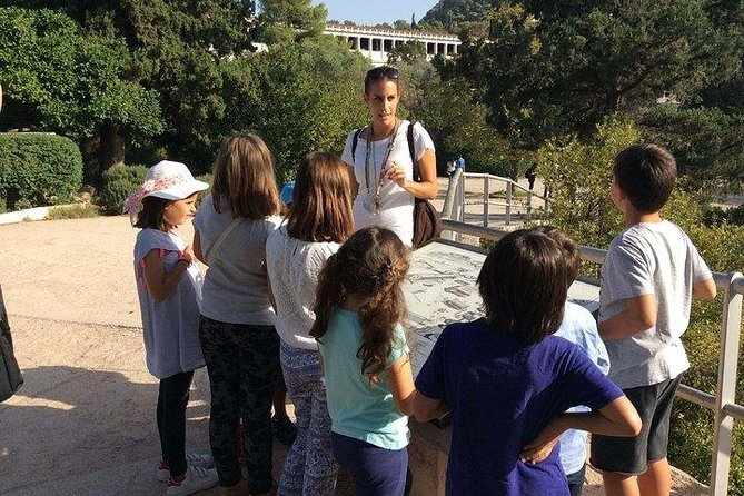 Play & Learn in the Ancient Agora: Private Family Workshop