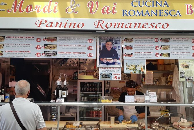 Rome Vespa Food Tour with driver 4 hours photo 2