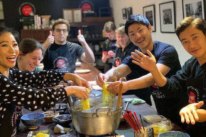 Asakusa Classic Ramen & Crispy Gyoza Cooking Class