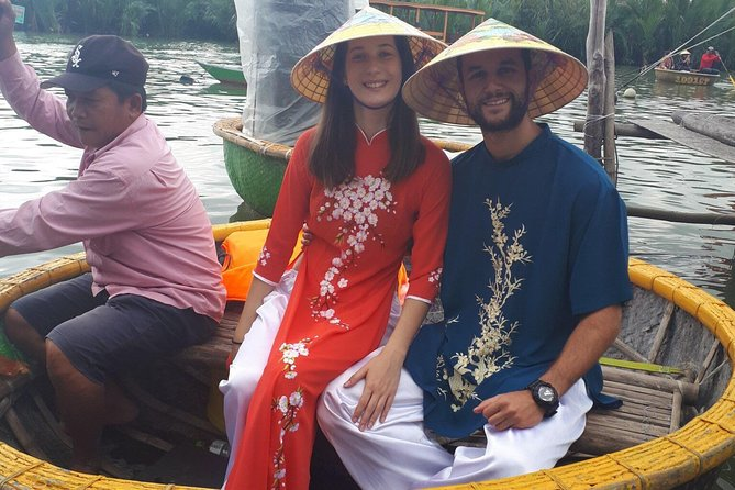 Hoi An Basket Boat Tour and fishing