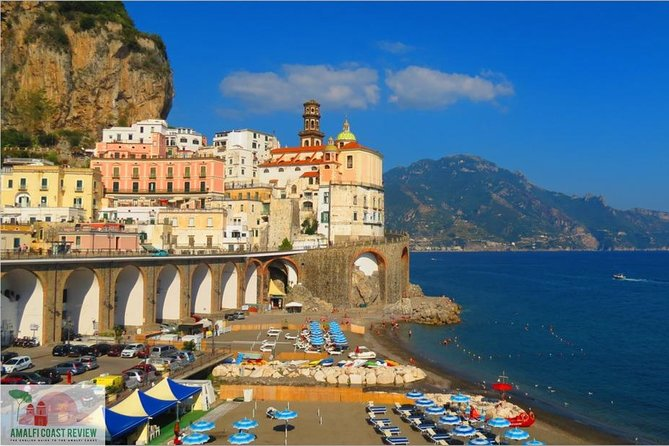 Transfer from Naples to Amalfi with stop at Pompeii or Vice Versa