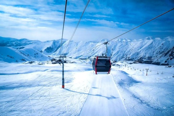 One-day private tour in Ananuri, Gudauri and Kazbegi from Tbilisi