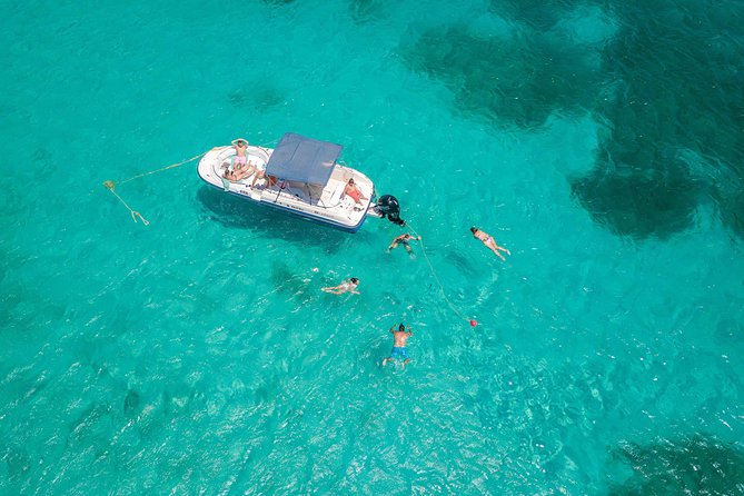 private snorkeling by boat